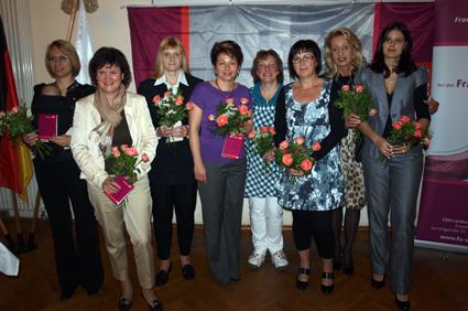 Gründung des Frauen Union Kreisverbandes Erzgebirge im Mai 2010.