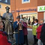 Kulturspaziergang der FU Erzgebirge in Zwönitz (Foto: Lilly Vicedom)
