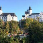 Schwarzenberg, Schloss und Kirche